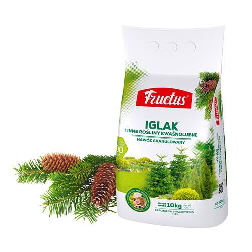 Fructus IGLAK I INNE ROŚLINY KWAŚNOLUBNE | 2,5kg | 5kg | 10kg | 25kg |