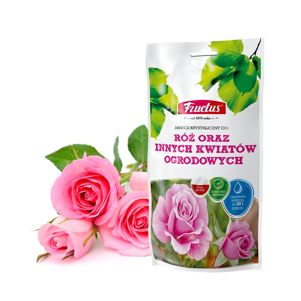 Fructus do róż oraz innych kwiatów ogrodowych