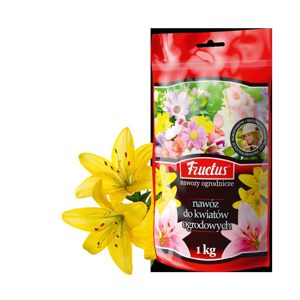 Fructus do kwiatów ogrodowych