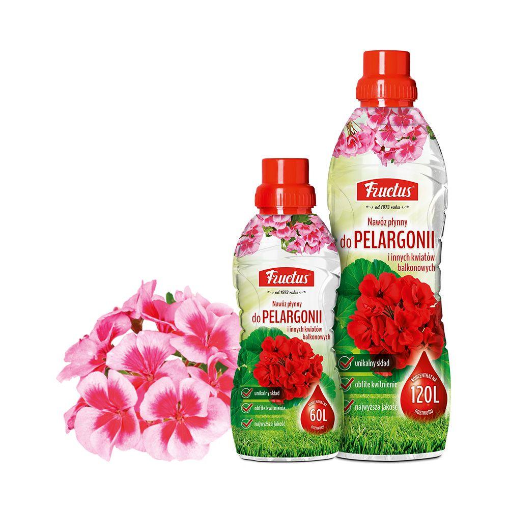 Fructus do pelargonii i innych kwiatów balkonowych | 0,5L | 1L |